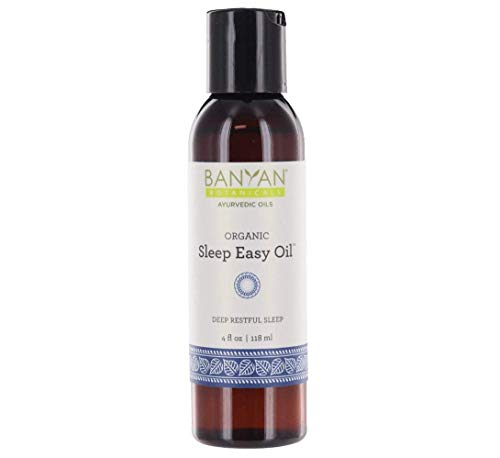 Banyan Botanicals Sleep Easy Oil - USDA Certified Organic, 4 oz - Herbal Sleep Aid to Promote Relaxation and Calm The Mind