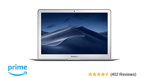 Apple MacBook Air (13-inch, 1 8GHz dual-core Intel Core i5, 8GB RAM, 128GB  SSD) - Silver (Previous Model)