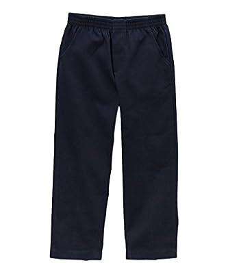 unik Boy's Uniform All Elastic Waist Pull-on Pants BU03