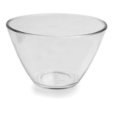 Anchor Hocking 3-Quart Splash Proof Glass Mixing Bowls, Set of 2