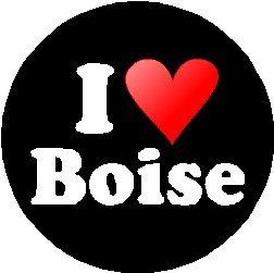 I Love Boise MAGNET (heart) -