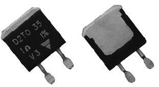 Thick Film Resistors - SMD 35W 15ohm 1%