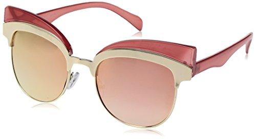 A.J. Morgan Women's Reign Rectangular Sunglasses, Pink, 68 - Reign Sunglasses