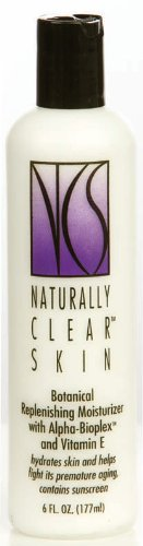 Naturally Clear Skin Botanical Replenishing - Moisturizing Moisturizer Naturally Clear