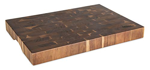 Viking Culinary 40475-4720C End Grain Acacia Wood Cutting Board, 20
