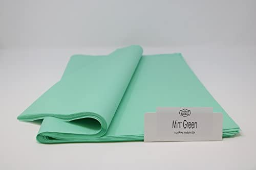 Colors of Rainbow Gift Tissue Paper, 96 Sheets, 15 Inch x 20 Inch – Cool Mint