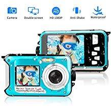 Blue Waterproof Camera - 5
