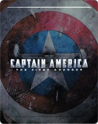 Captain America: The First Avenger 3D + 2D - Iron Man Steelbook