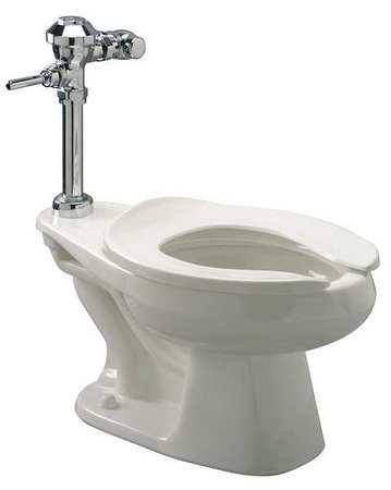 Bedpan Flushometer Toilet, Elongated 1.28 gpf