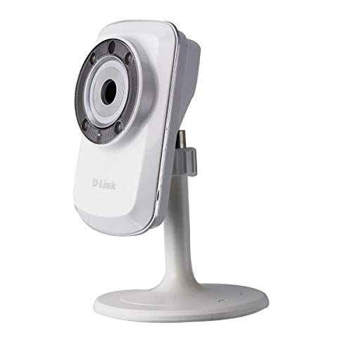 D-Link Day & Night Wi-Fi Camera - White DCS933L (Dcs 933l Day & Night Wi Fi Camera)