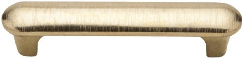 Knobware H-5002/310/FF/BB 3-Inch Center On Center Burnished Brass Texture Brushed Handle by Knobware