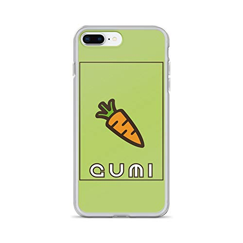 iPhone 7 Plus/8 Plus Case Anti-Scratch Japanese Comic Transparent Cases Cover Vocaloid Kawaii Gumi Green Anime & Manga Graphic Novels Crystal Clear