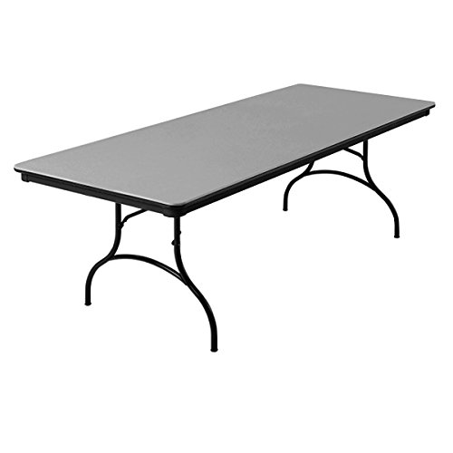 Wondrous Mitylite Abs Plastic 36X96 Folding Table Beige Black Interior Design Ideas Gentotryabchikinfo
