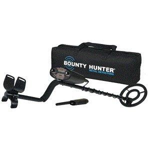 (Bounty Hunter Quick Draw II Metal Detector - Metal - Long Handle)