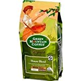 Green Mountain Coffee Roasters Organic Whole Bean Coffee, House Blend, Medium & Dark Roasts, 10 oz