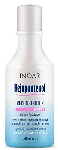 Shampoo Rejupantenol com Dexpantenol 250 ml, Inoar, Transparente