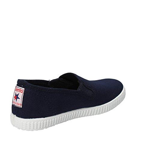 CIENTA - Zapatillas de tela para niño turquesa