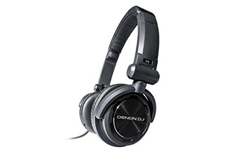 Denon HP600 Supraaural Diadema Negro Auricular - Auriculares (Supraaural, Diadema, 10000-28000 Hz,...