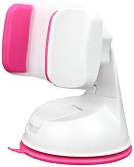 車の吸引のコップブラケット、車の電話ホールダーの空気出口の運行ブラケット360°回転式満ちる座席 (色 : White powder)