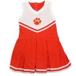 Clemson University Tigers Cheerleader Bodysuit Dress