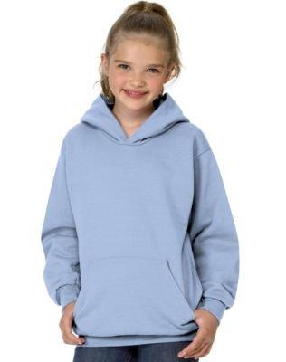 Hanes Youth Comfortblend Ecosmart Pullover Hood (Light Blue) (L)