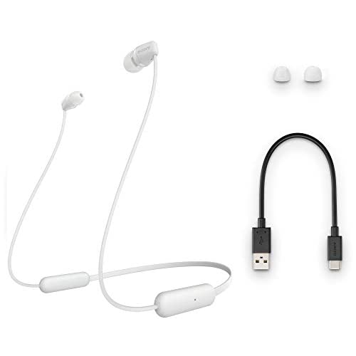 Sony WI-C200 Wireless Neck-Band Headphones with up to 15 Hours of Battery Life – White 6
