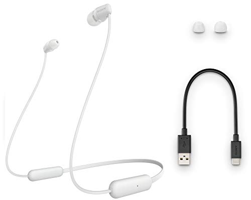 Sony WI-C200 Wireless Headphones with 15 Hrs Battery Life, Quick Charge, Magnetic Earbuds for Tangle Free Carrying, BT… 2021 August Usage : Wireless Headphones for casual and daily usage Battery Life : Up to 15 Hours of battery life Quick Charge : Quick charge in 10mins for 60mins playback
