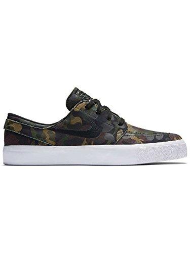Nike SkateboardingZoom Stefan Janoski Premium Ht - Sandalias con cuña hombre white/black/white/multi c