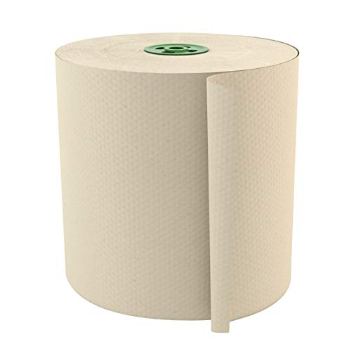 Cascades Tandem 1-Ply 7 1/2'' Roll Towels, 100% Recycled, Ivory, 775' Per Roll, Case of 6 Rolls by Cascades (Image #1)
