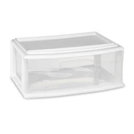 Homz Underbed College Clear Storage Drawer, Set of 3