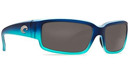 Costa Del Mar (CL73OGP) Caballito Sunglass, Matte Caribbean Fade/Gray - Sunglasses Caballito
