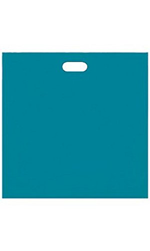 Jumbo Low Density Teal Merchandise Bags - Case of 500 by STORE001