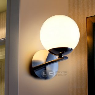 new arrival fce58 a6d61 Metal Glass Wall Sconce in ball Shape: Amazon.co.uk: Lighting