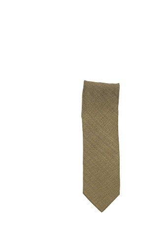 Olymp Seiden Krawatte 6 cm breit Businesskrawatte fleckabweisend durch Nano-Technologie Muster Mais