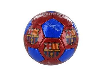 FCB FC Barcelona - Balón f.c. Barcelona con Escudo y firmas Grande Talla 5  (Accesorios Deportivos)  Amazon.es  Deportes y aire libre 48b90b898b3