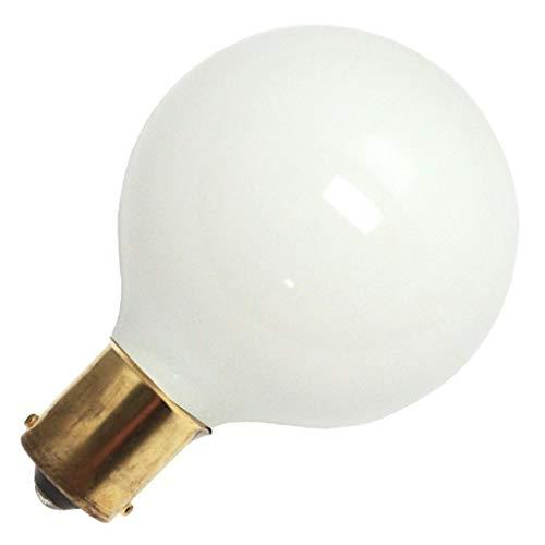 (General 11014-13G16.5/W/SC 12V G16 5 Decor Globe Light Bulb)