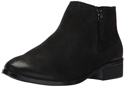 Aldo Women's Taliyah Ankle Bootie, Black Nubuck, 6 B US