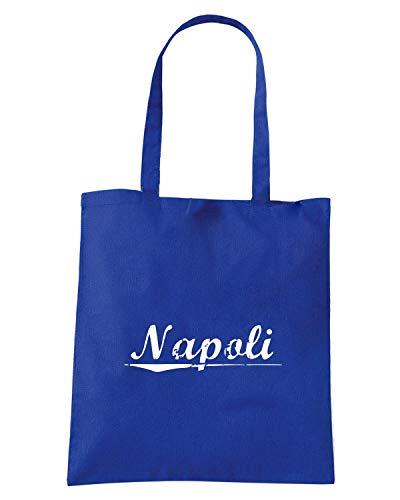 Borsa Shopper Royal Blu TSTEM0262 AGED NAPOLI