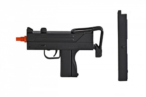 BBTac-M42F-Airsoft-SMG-Folding-Wire-Stock-200-FPS-Spring-Gun-with-26-Round-ClipMagazine