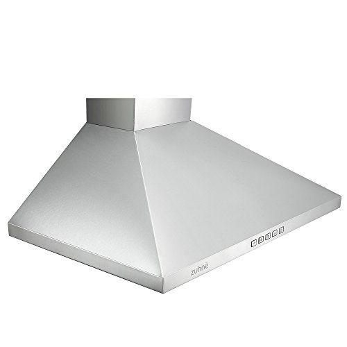 Ductless Vent Hoods For Cooktops ~ Zuhne ventus inch kitchen wall mount vented ductless