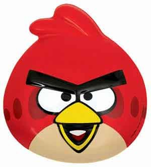 Angry Birds Space Vac Form Mask (5 Piece/Pack) - 253710 -