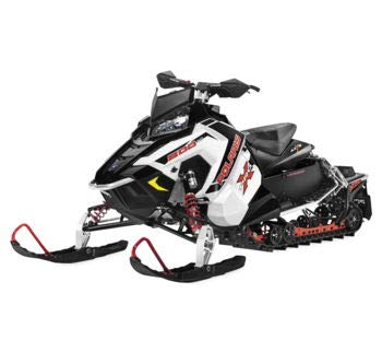 New Ray Toys 1:18 Scale Snowmobile Die-Cast Replica Polaris 800 Switchback Pro-X White 57783A