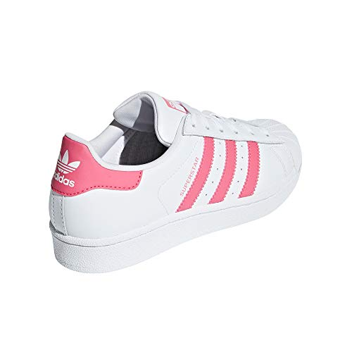 Superstar Adidas real Mujer Blancas Deporte Zapatillas De White Pink d4qF4UT