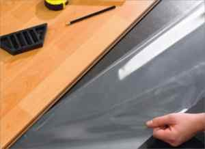 Acoustic Underlay For Solid Wood Floors, Self Adhesive