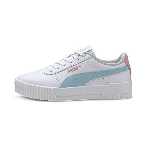 chollos oferta descuentos barato PUMA Carina L Jr Zapatillas Mujer Blanco White Gulf Stream 38 EU
