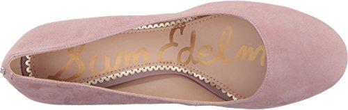 Mauve Leather Pink Pumps Edelman Women's Suede Kid Sam Stillson Pcn48wW