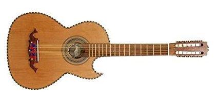 Bajo Sexto Guitars - Paracho Elite Hidalgo Thin Body Bajo Sexto Guitar