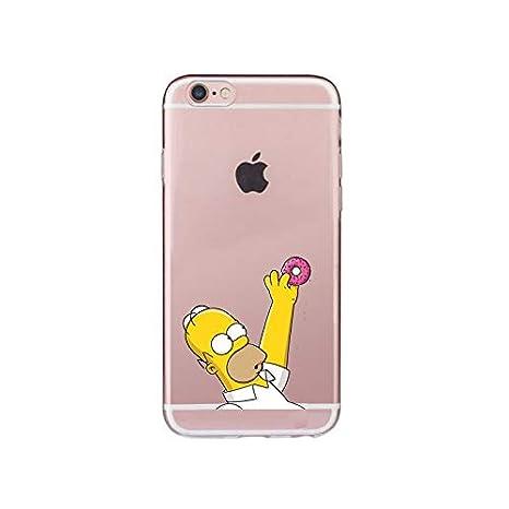 Desconocido Fundas iPhone 7/8, Los Simpson Homer Rosquillas ...