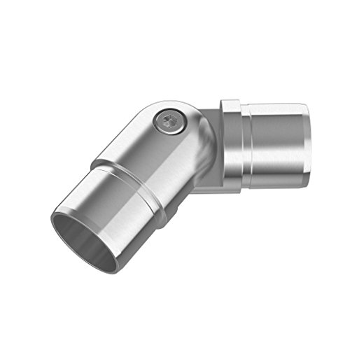 Inline Design Stainless Steel Flush Angle Adjustable Round (Thickness: 2.0mm)