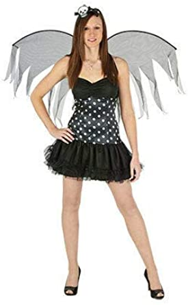 Hi Fashionz Trixie - Disfraz de Hada Oscura para Mujer: Amazon.es ...